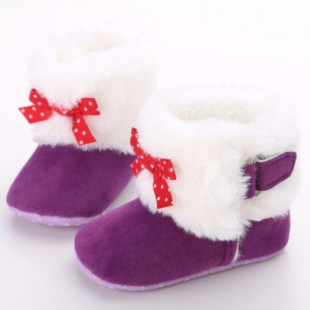 Mulberry - red bow snugglies
