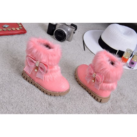 Pink Lola chic boots