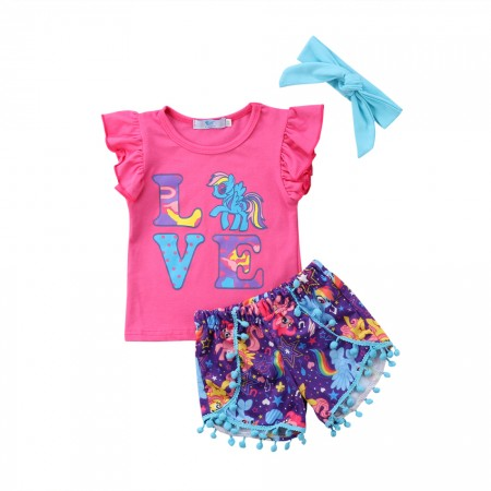 My little pony pom pom outfit