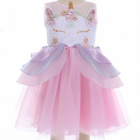Celestia adorned pink unicorn dress