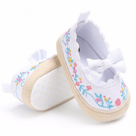 Tiny tots summer pre walkers - white