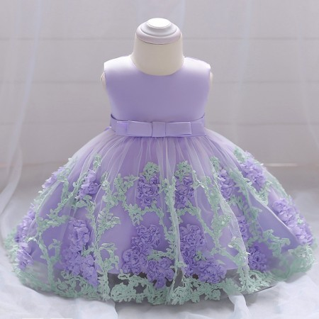 Macie Mae flower dress - lilac mist