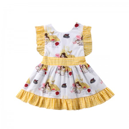 Disney Belle beauty and the beast sundress