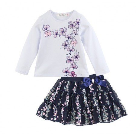 Boutique floral skirt and top - Clara