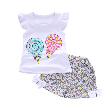 Orla sweets and treats lollipop outfit - white