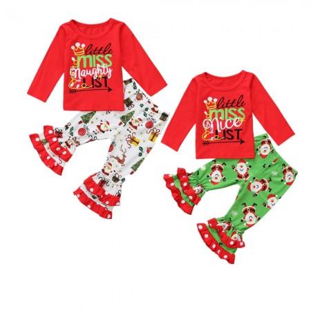 Little miss naughty xmas pyjamas