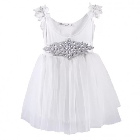 Millie dress with Crystal sash belt