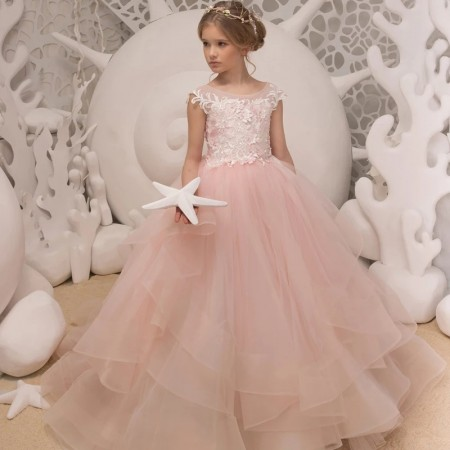 Eden elegance blush dress