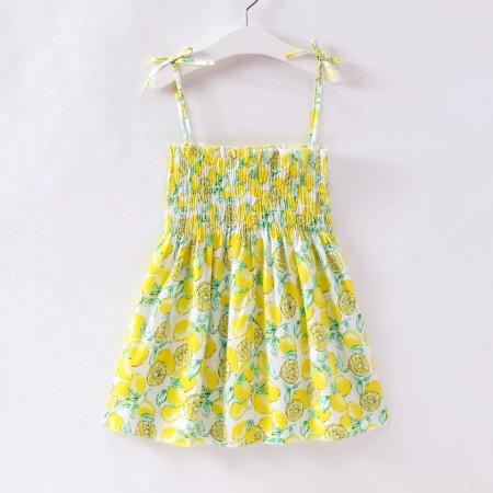 Spring lemon sundress