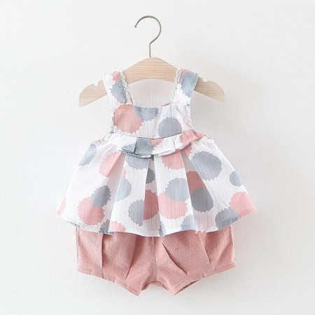 Siera top and shorts set