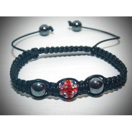 Union jack shamballa bracelet
