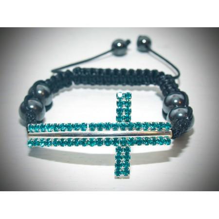 Saphire crystal bracelet