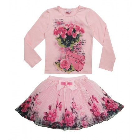 Candice Boutique Rose Skirt & Top