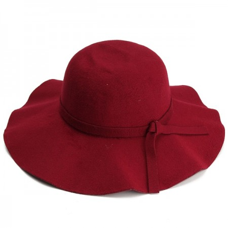 Adult Raspberry Floppy Fedora Hat